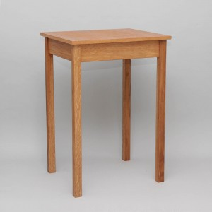 Credence Table 6522 - Oak  - 1