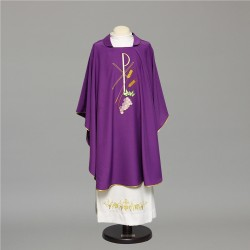Gothic Chasuble 6648 - Purple