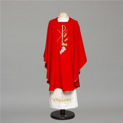 Gothic Chasuble 6651 - Red
