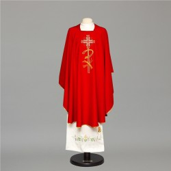 Gothic Chasuble 6673 - Red