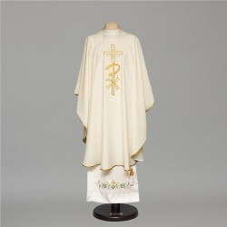 Gothic Chasuble 6674 - Cream