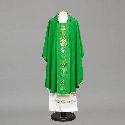 Gothic Chasuble 6675 - Green