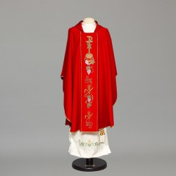 Gothic Chasuble 6676 - Red