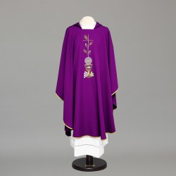 Gothic Chasuble 6677 - Purple
