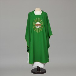 Gothic Chasuble 6681- Green