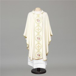 Gothic Chasuble 6684 - Cream