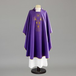 Gothic Chasuble 6691 - Purple