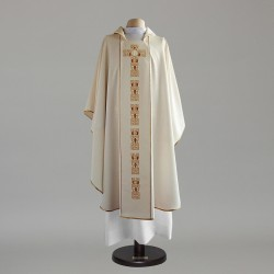 Gothic Chasuble 6695 - Cream