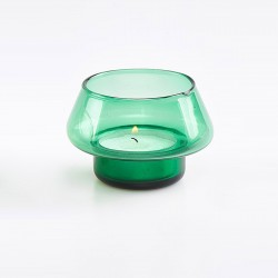 Green Votive Light Holder 6744