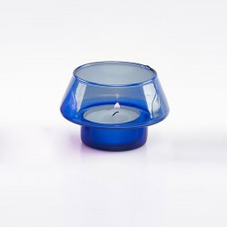 Blue Votive Light Holder 6745