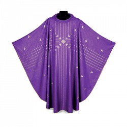 Gothic Chasuble 6975 - Purple