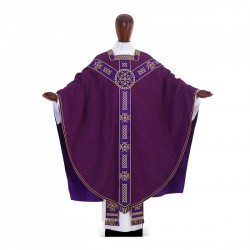 Gothic Chasuble 6988 - Purple