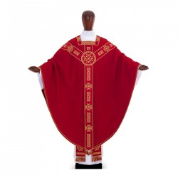 Gothic Chasuble 	6989 - Red