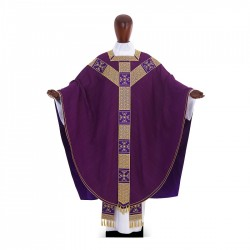 Gothic Chasuble 6993 - Purple