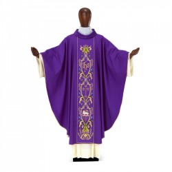 Gothic Chasuble 7000 - Purple