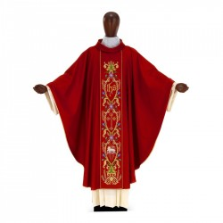 Gothic Chasuble 7002 - Red