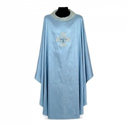 Gothic Chasuble 7005- Blue  - 1