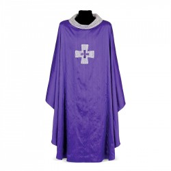 Gothic Chasuble 7008- Purple