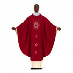 Gothic Chasuble 7013 - Red