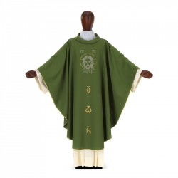 Gothic Chasuble 7014 - Green
