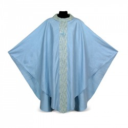 Gothic Chasuble 7016- Blue