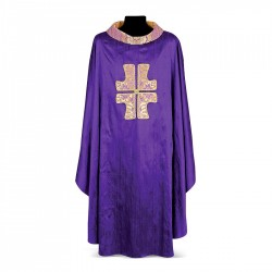 Gothic Chasuble 7023- Purple