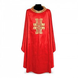 Gothic Chasuble 7024- Red