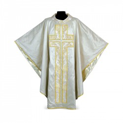 Gothic Chasuble 7025 - Cream