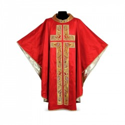 Gothic Chasuble 7029- Red