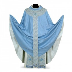 Gothic Chasuble 7031 - Blue