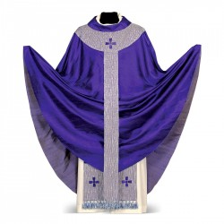 Gothic Chasuble 7033 - Purple