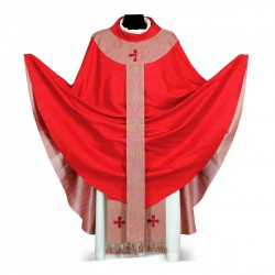 Gothic Chasuble 7034- Red