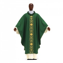 Gothic Chasuble 7037- Green