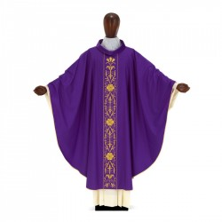 Gothic Chasuble 7038- Purple