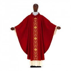 Gothic Chasuble 7039- Red