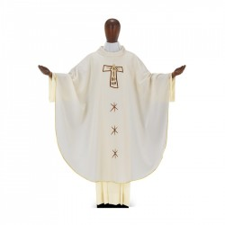 Gothic Chasuble 7040 - Cream