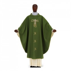 Gothic Chasuble 7041- Green