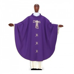 Gothic Chasuble 7042- Purple