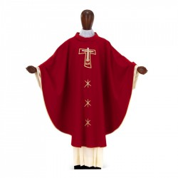Gothic Chasuble 7043- Red