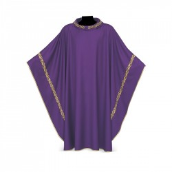 Gothic Chasuble 7062 - Purple