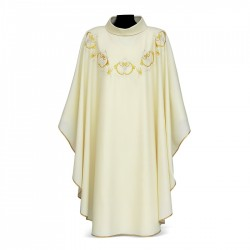 Gothic Chasuble 7064 - Cream