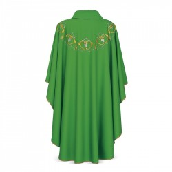 Gothic Chasuble 7065- Green