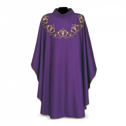 Gothic Chasuble 7066- Purple