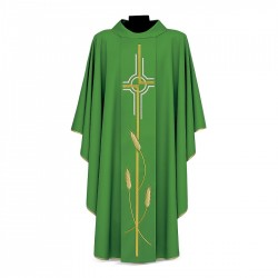 Gothic Chasuble 7069 - Green