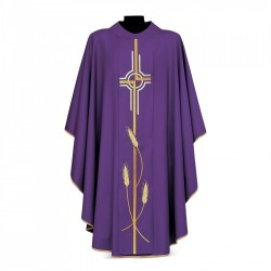 Gothic Chasuble 7070 - Purple