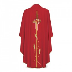 Gothic Chasuble 7071 - Red