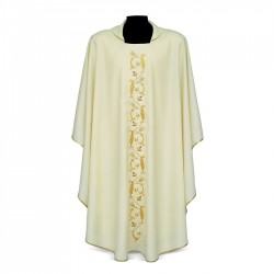 Gothic Chasuble 7074 - Cream