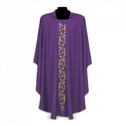 Gothic Chasuble 7076 - Purple