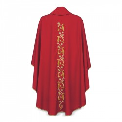 Gothic Chasuble 7077- Red