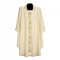 Gothic Chasuble 7078 - Cream